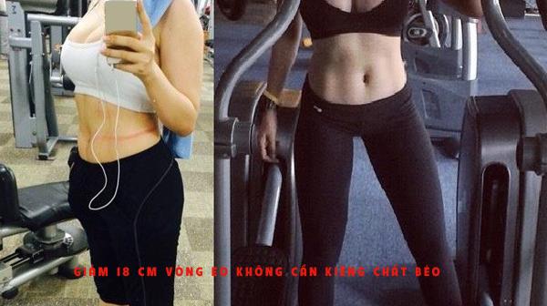 Giảm 18 cm vòng eo không cần kiêng chất béo