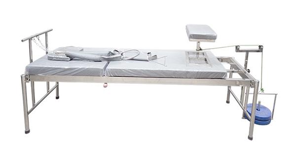 Giường kéo giãn cột sống lưng inox INO1