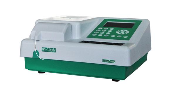 Máy xét nghiệm sinh hóa bán tự động BS-3000M