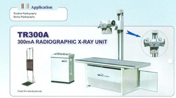Máy x quang thường qui 300mA Triup TR300A