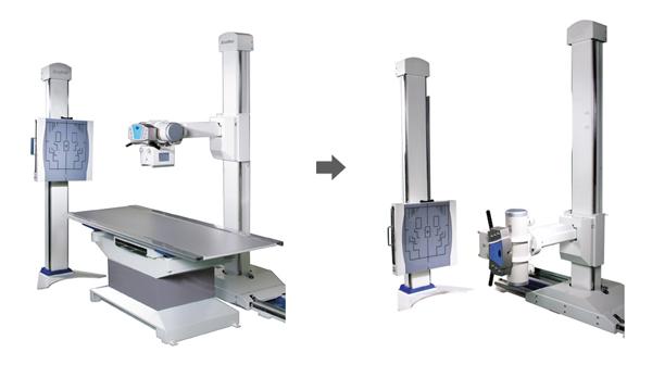 Máy X quang cao tần 500mAs HF525 Plus