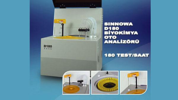 Máy xét nghiệm sinh hóa tự động Sinnowa D180
