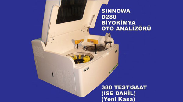 Máy xét nghiệm sinh hóa tự động Sinnowa D-280